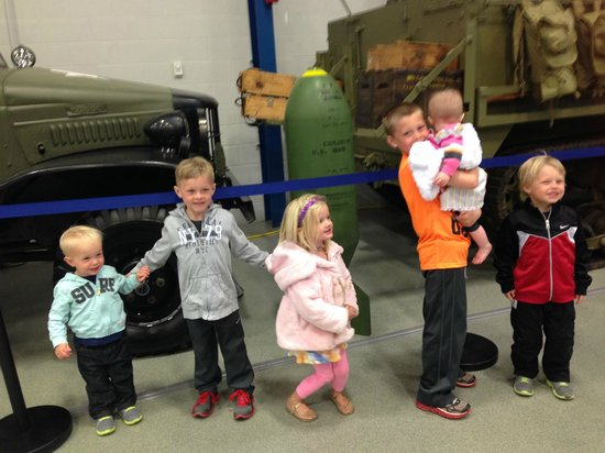 Liberty Aviation Museum : having fun at the aviation museum