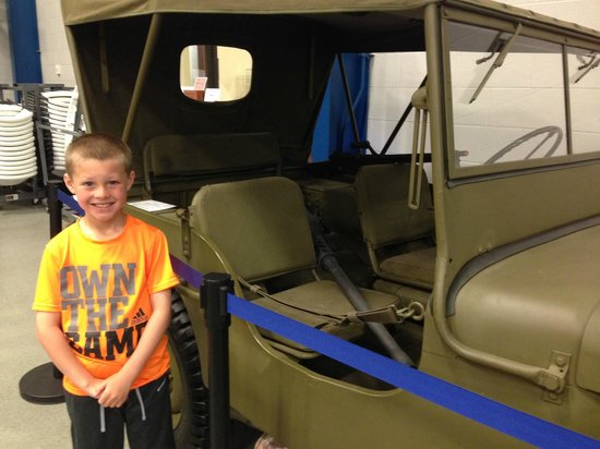Liberty Aviation Museum : Jeep