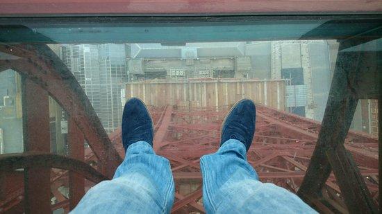 Tour et Cirque de Blackpool (Blackpool Tower and Circus) : Glass floor