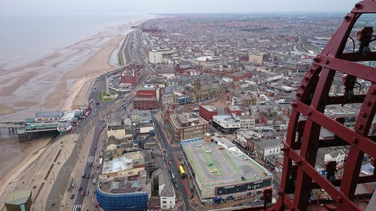 Tour et Cirque de Blackpool (Blackpool Tower and Circus) : Blackpool view