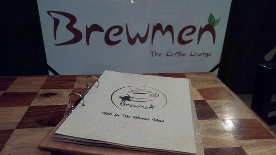 Menu @ Brewmen