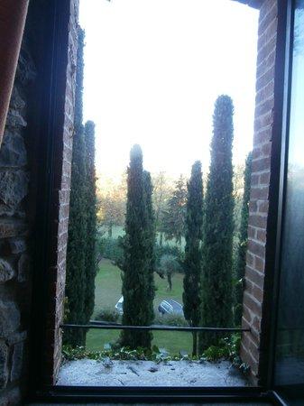 Hotel Castello Di Casiglio: vista dalla camera da letto