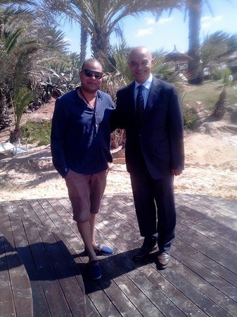Palm Beach Club Hammamet: bravo mr. faouzi