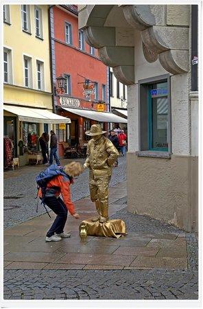 Altstadt von Fuessen: Isola pedonale - nuove attività