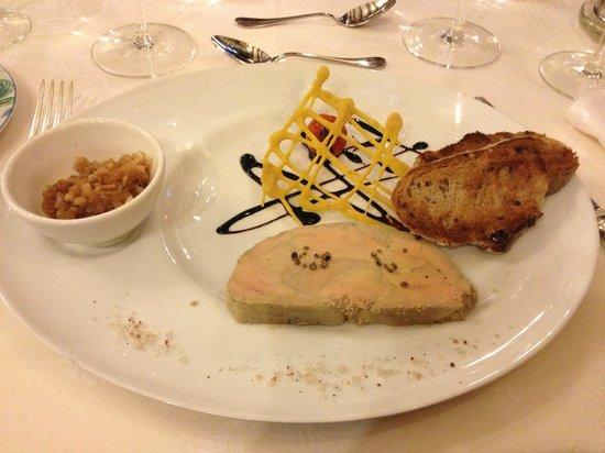 La Croix d'Or: Entrée : Foie gras