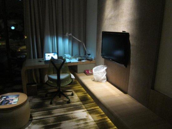 Crowne Plaza Changi Airport: Great work desk