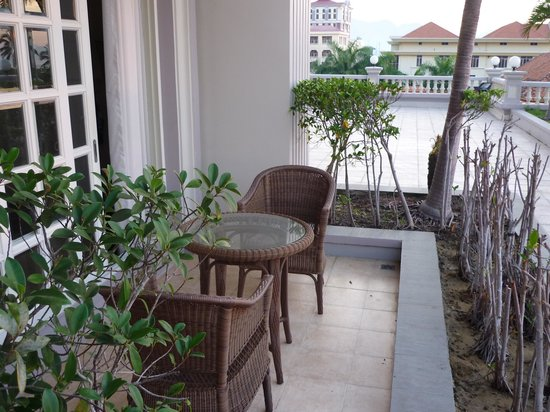Sunrise Nha Trang Beach Hotel & Spa: 207のベランダ