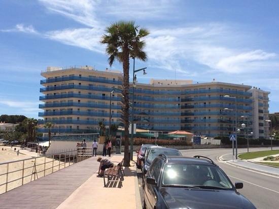Golden Donaire Beach Hotel: fachada hotel