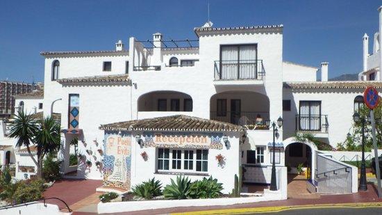 Pueblo Evita Club : entree de la résidence