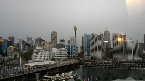 Ibis Sydney Darling Harbour : Fantastic view!