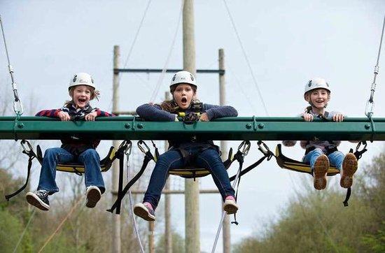 Creepy Valley Adventure Centre: Triple King Swing