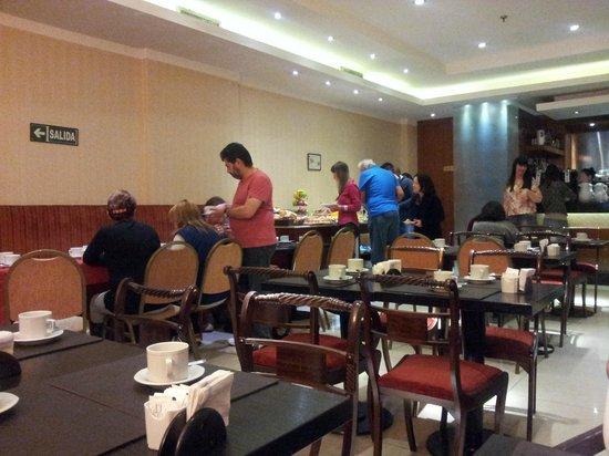 Hotel Sheltown: Café da Manhã