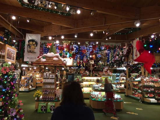 Frankenmuth Christmas.Walking In The Door Picture Of Bronner S Christmas