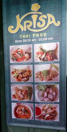 Krisa Thai Food Picture Of Krisa Coffee Shop Bangkok Tripadvisor
