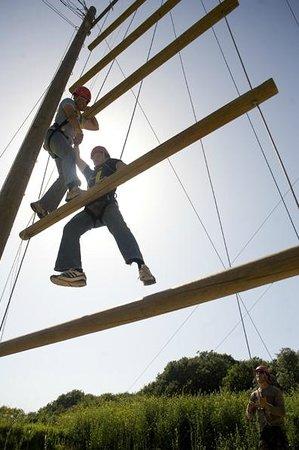 Creepy Valley Adventure Centre: Jacob's Ladder