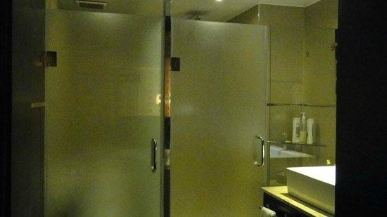 Punta Cana Princess All Suites Resort & Spa: Baño de la habitación (una puerta es la ducha, la otra es WC)