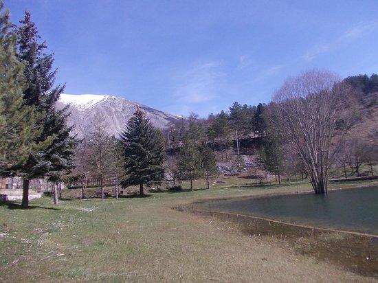 Villalago, Italie : lago pio - scorcio 3