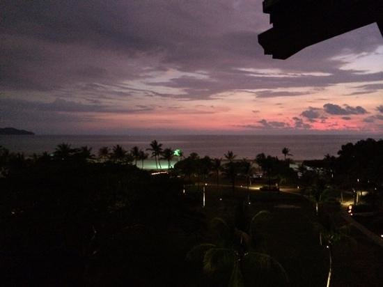 Shangri-La's Rasa Ria Resort & Spa: view from our room