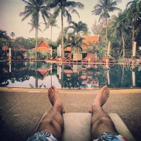 Blue Lagoon Hotel: А вот и собственно бассейн!