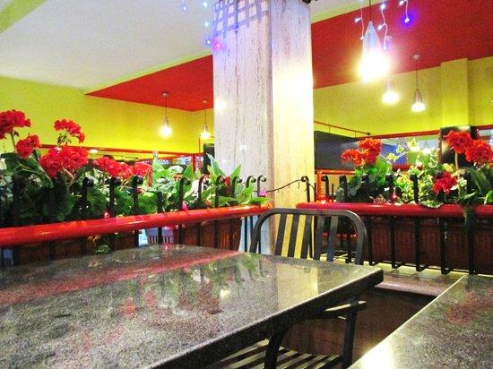 Pizza Forum: Sala interna