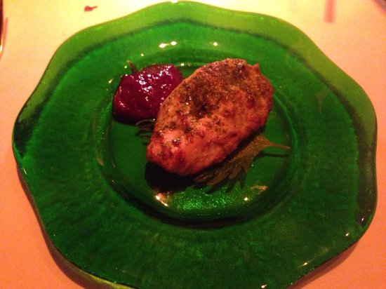 Chutney Mary: Chicken starter - so yummy!