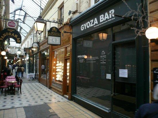 gyoza bar picture of passage des panoramas paris tripadvisor. Black Bedroom Furniture Sets. Home Design Ideas