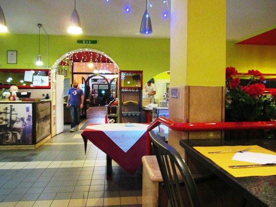 Pizza Forum : Sala interna