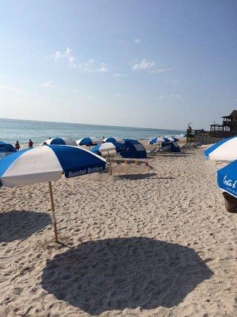 Costa d'Este Beach Resort & Spa: umbrellas on the beach