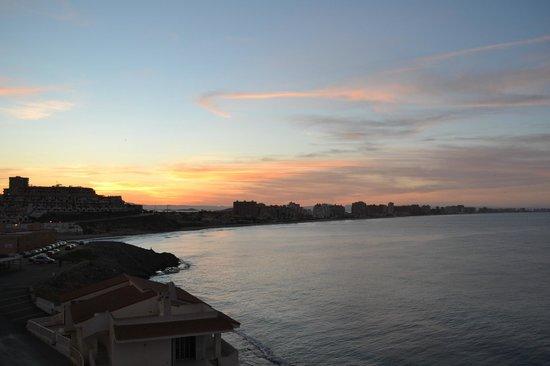 Servigroup Galúa: Coucher de soleil depuis la chambre