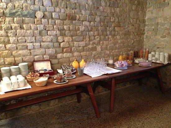 Klosterhotel St. Petersinsel : Le petit déjeuner