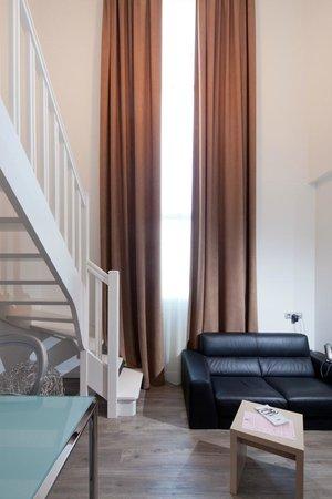 Quality Suites Nantes Beaujoire: duplex