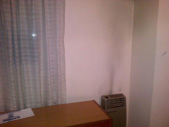 Hotel Felipe II: paredes sucias