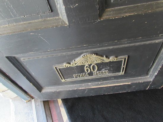 The Inn on Ferry Street: Nameplate on Front Door