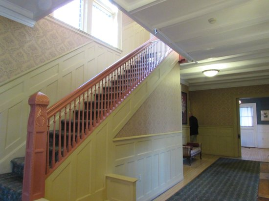 The Inn on Ferry Street: Stairway to Second Floor