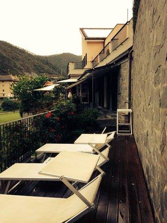 B&B Villa Luisa: Solarium