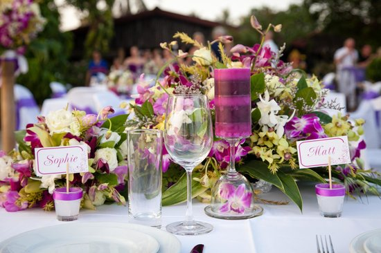 Phangan Beach Resort: Head table