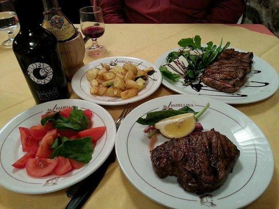 Ristorante da Padellina: мясное второе