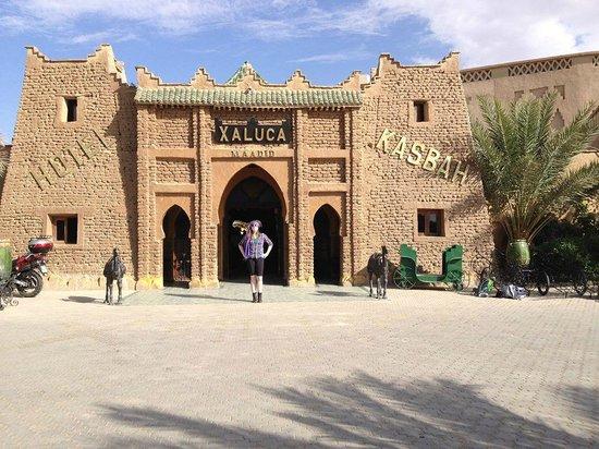 Kasbah Hotel Xaluca Arfoud : Front of the hotel