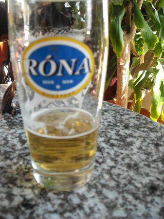 Korona Cukraszda: Nice beer