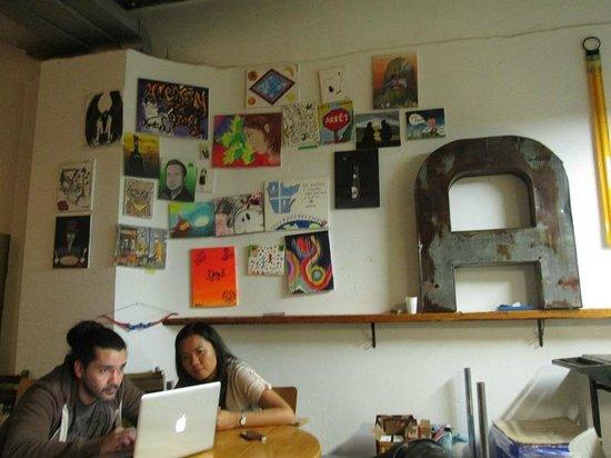 Alexandrie Hostel: Salle à manger