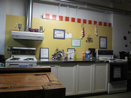 Alexandrie Hostel: Cuisine