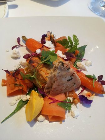 Temple Sowerby House Hotel : Seasonal Delights-Normally don't like carrot much