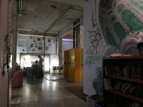 Alexandrie Hostel: Hall de l'hotel