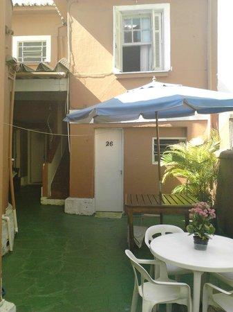 Pousada & Hostel São Paulo - Unidade 1 - Jardins: la cour