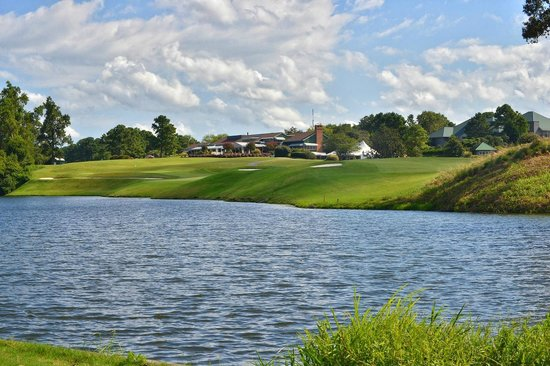 Kingsmill Resort : Eagles across River Course