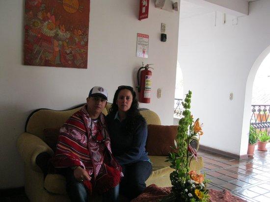 Hostería Durán: con mi pareja