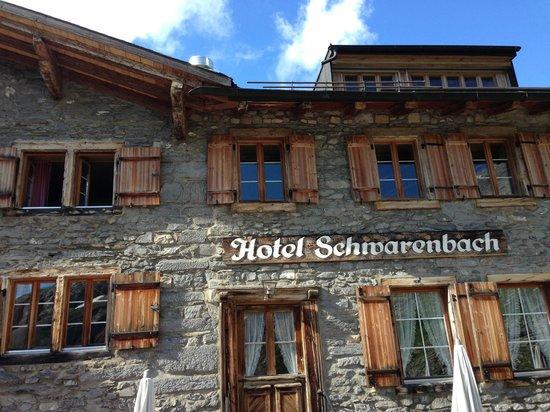 Berghotel und Restaurant Schwarenbach: Das Berghotel Schwarenbach