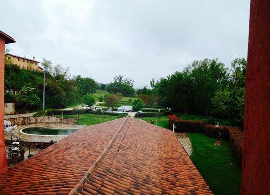Vecchia Porta: bello anche con la pioggia