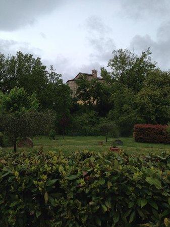 Vecchia Porta: scorcio fotografato dal giardino
