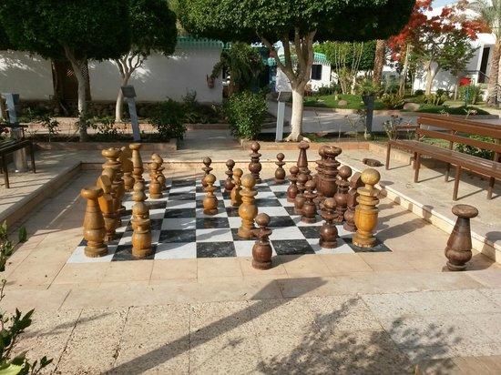 Ghazala Beach Hotel: Шахматы
